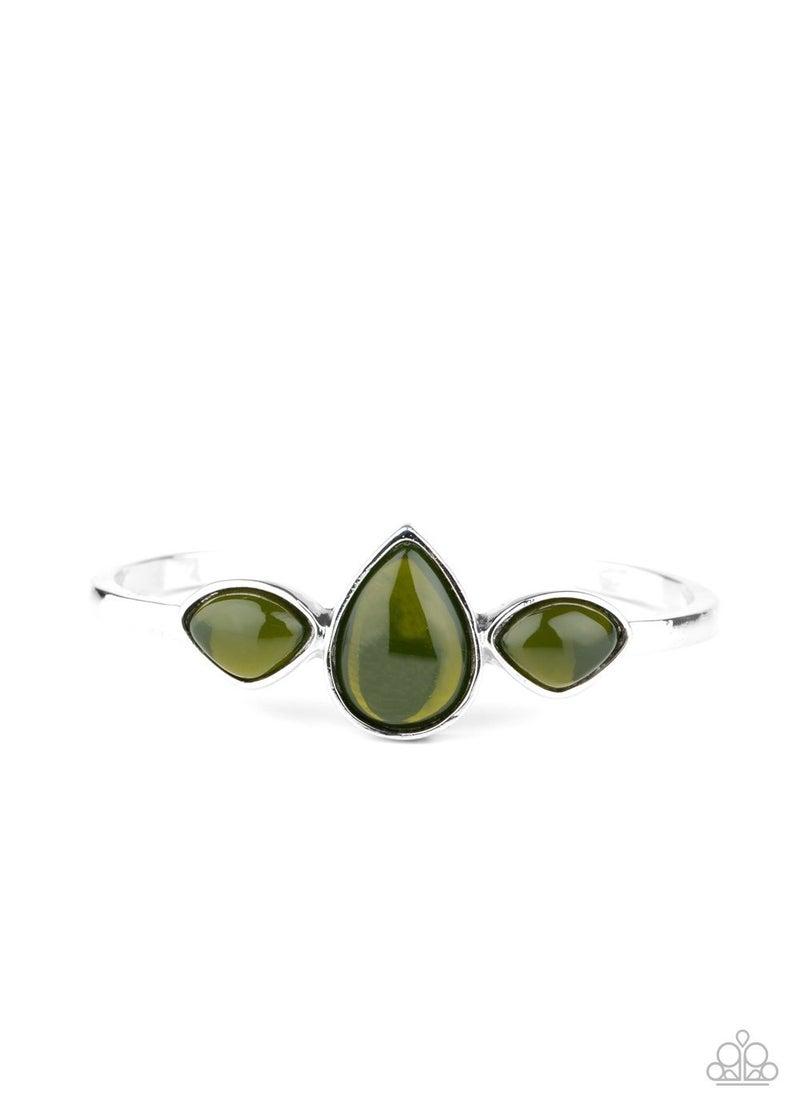 Boho Beach Babe Green Bracelet - Sparkle with Suzanna