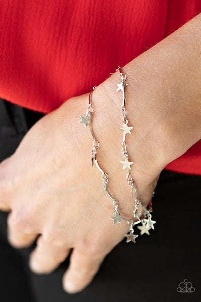 Party in the USA - Silver Star Bracelet