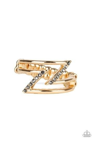 5th Avenue Flash Gold Ring