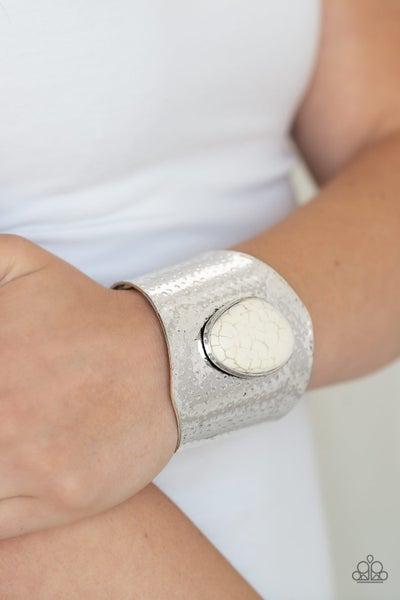 Casual Canyoneer White Bracelet