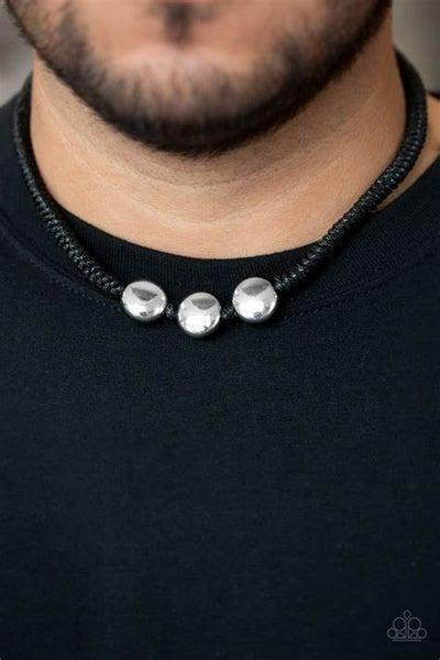 Pedal to the Metal Black Urban Bracelet