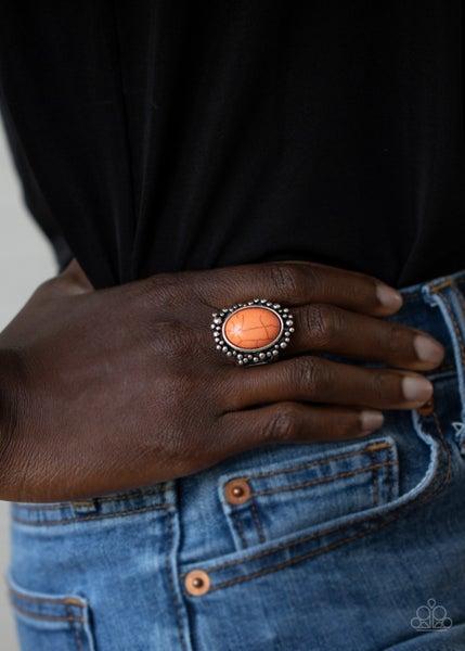 Desert Mine Orange Ring