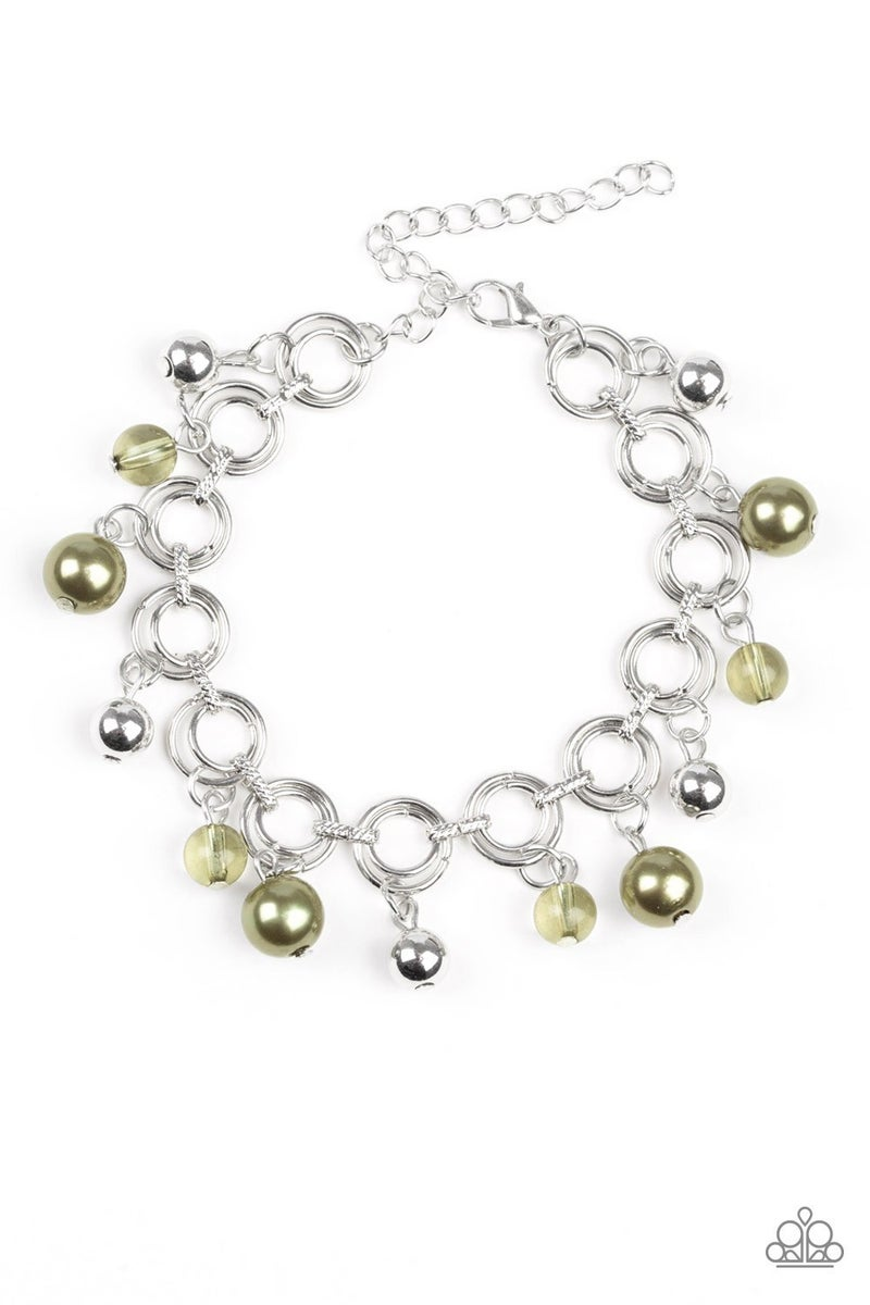 Fancy Fascination Green Bracelet - Sparkle with Suzanna