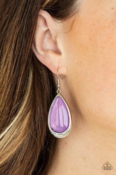 A World to SEER Purple Earring