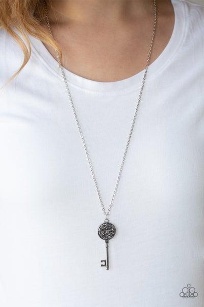 Key Keepsake Silver Necklace