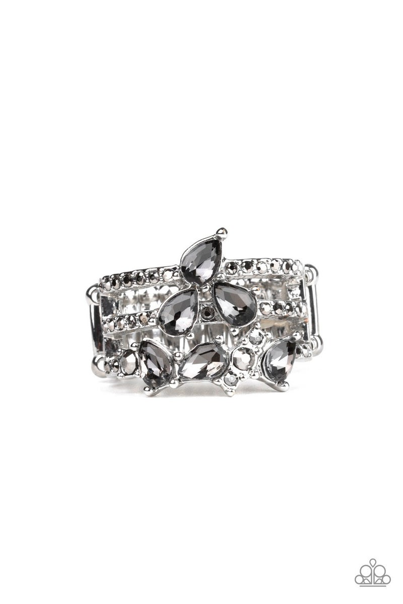 Blink Back TIERS Silver Ring - Sparkle with Suzanna