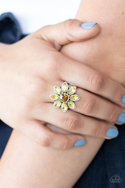 Pragmatic Petals Yellow Ring