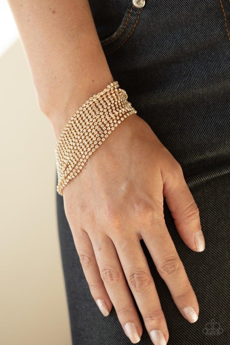 Woke Up Like This Gold Bracelet - PREORDER