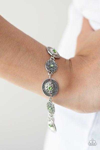 Secret Garden Glamour Green Bracelet