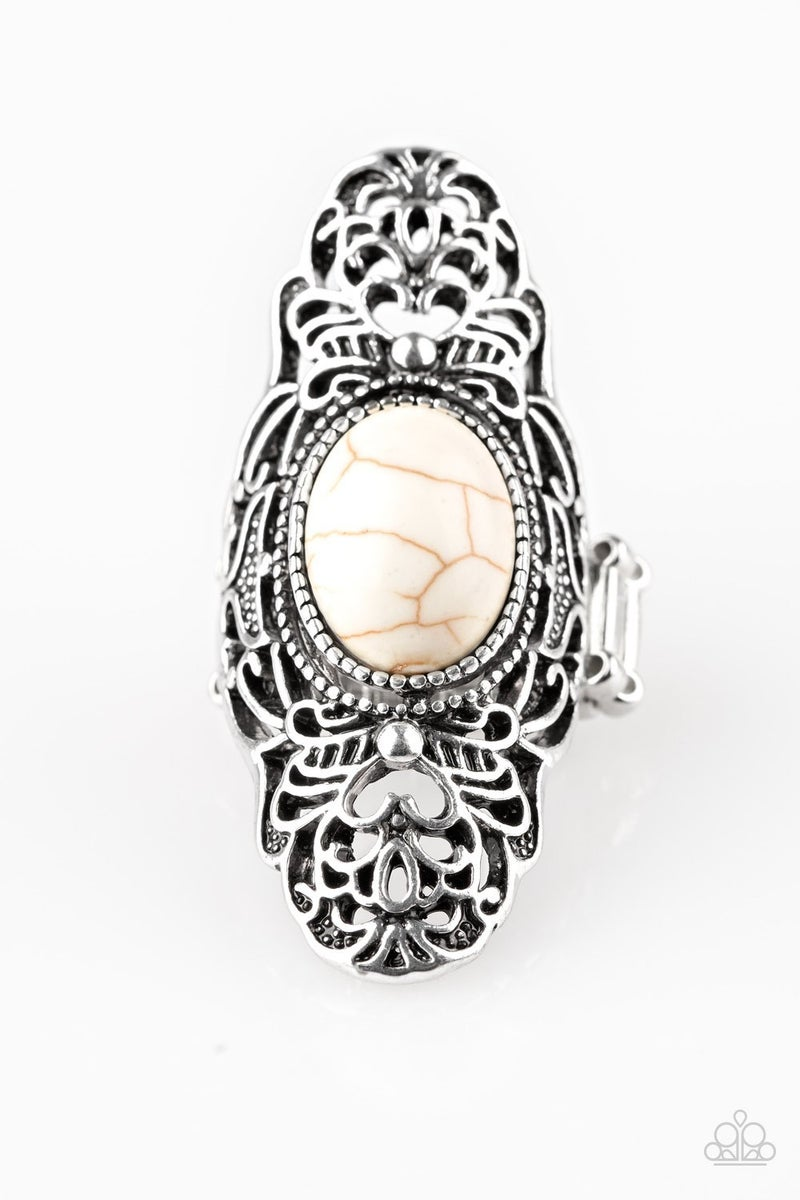 Ego Trippin' White Ring