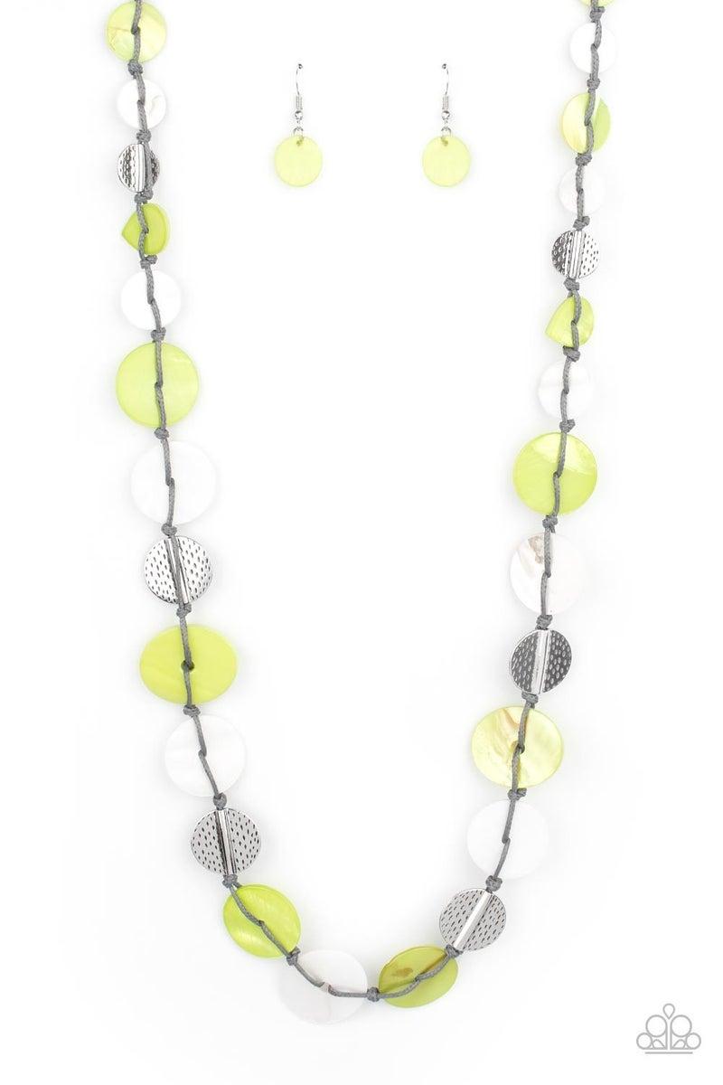 Seashore Spa Green Necklace - PREORDER