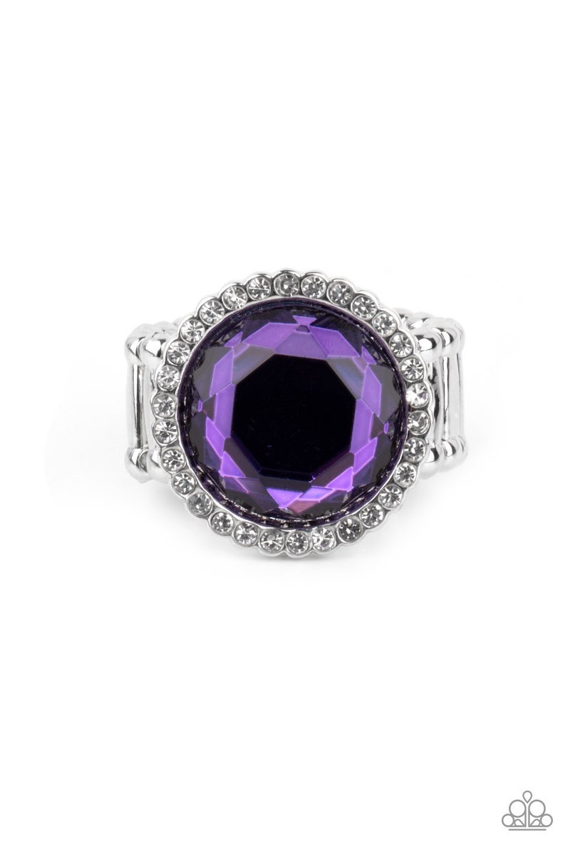 Crown Culture Purple Ring