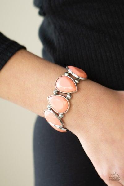 Flamboyant Tease Coral Bracelet
