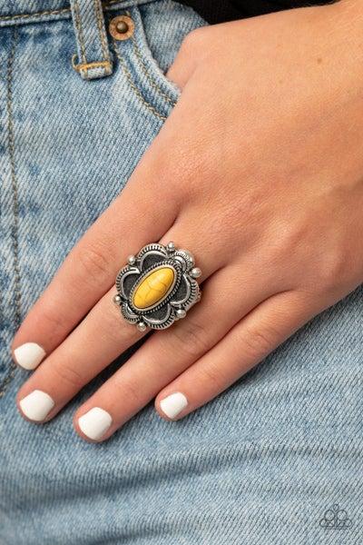 Sage Garden Yellow Ring
