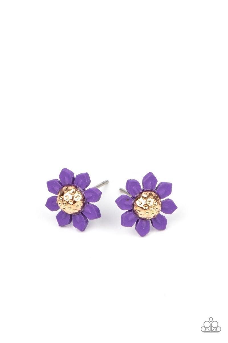 Starlet Shimmer Flower Earrings