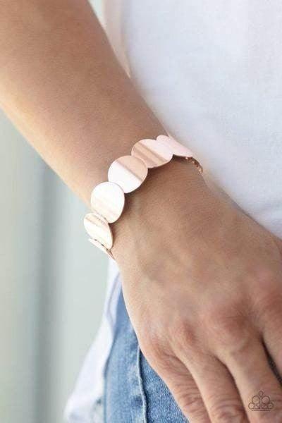 Industrial Influencer Rose Gold Bracelet