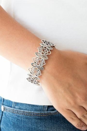 When Yin Met Yang Silver Bracelet