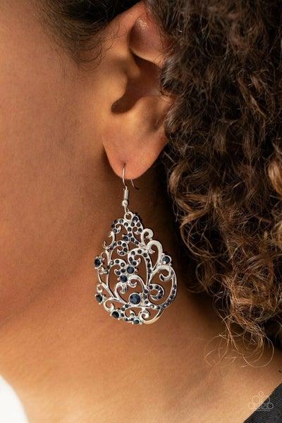 Winter Garden Blue Earring