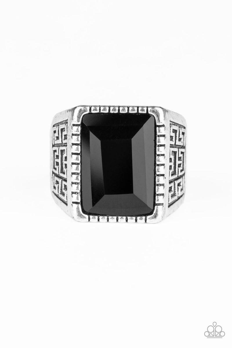 Winning Attitude Men's  Black Ring - PREORDER