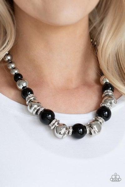 Hollywood HAUTE Spot Black Necklace