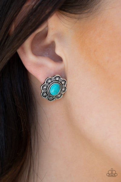 Springtime Desserts Blue Post earring