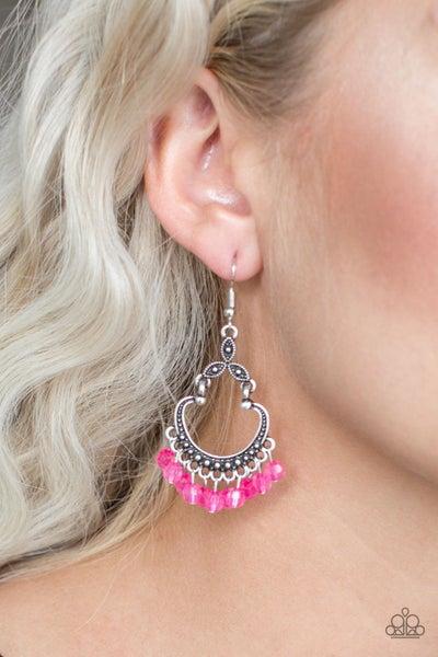 Babe Alert Pink Earring