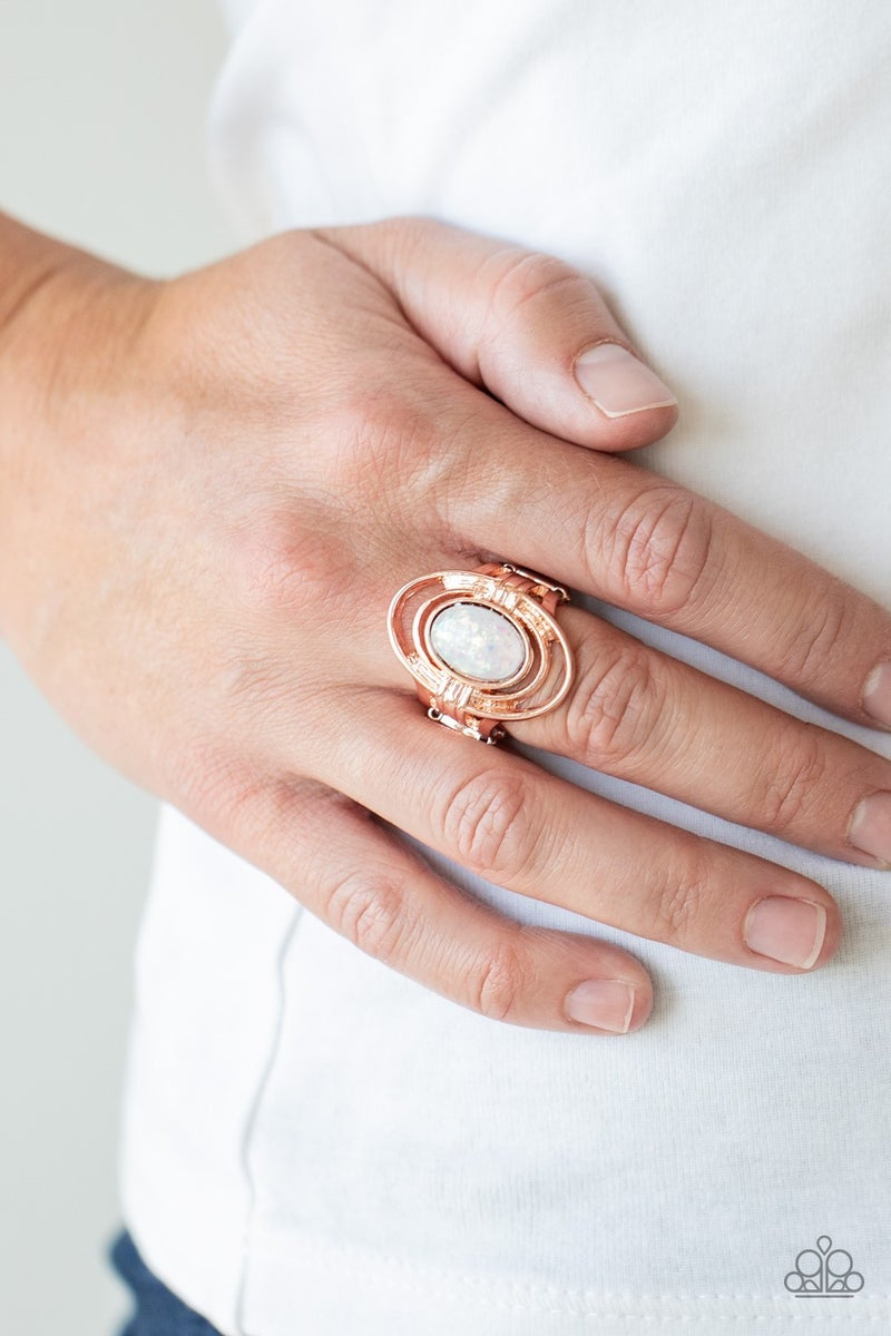 Peacefully Pristine Rose Gold Ring