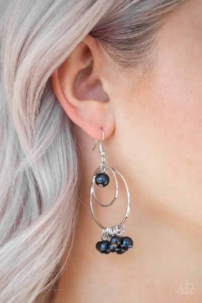 New York Attraction Blue Earring