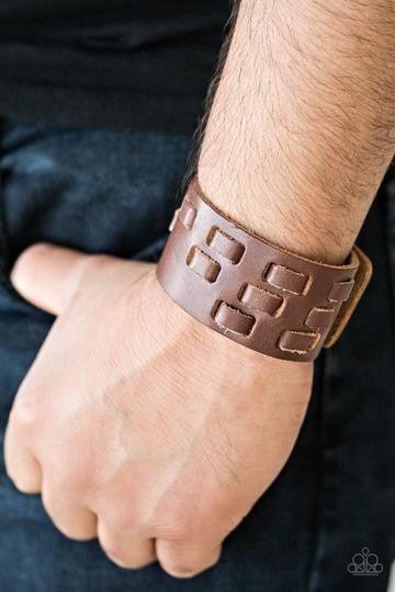 Rodeo Rampage Brown Urban Bracelet