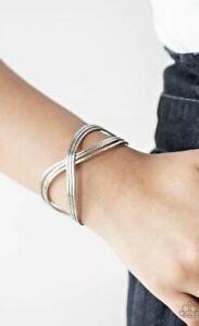 Infinitely Iridescent Silver Bracelet