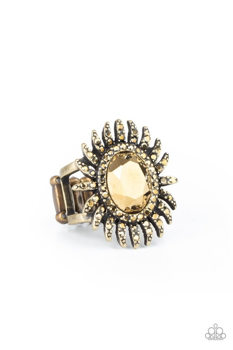 Ultra Luxe Brass Ring - PREORDER
