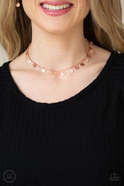 Musically Minimalist Copper Necklace - PREORDER