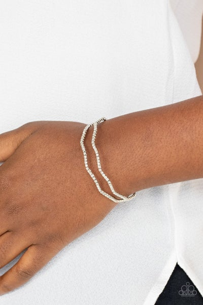 Delicate Dazzle White Bracelet