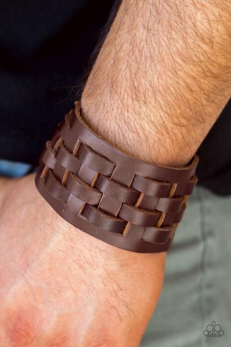 Road Hog Brown Urban Bracelet