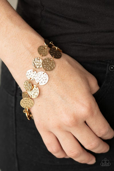 Rooted To The SPOTLIGHT Gold Bracelet