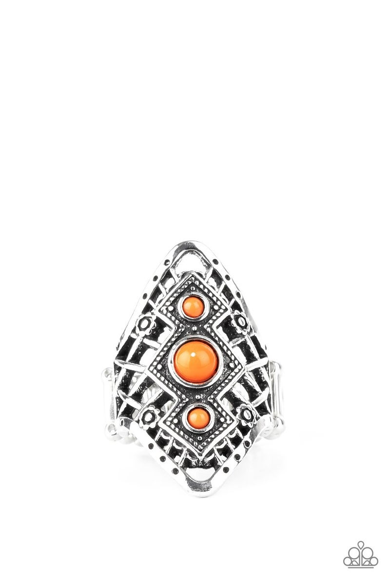 Desert Dreamland Orange Ring