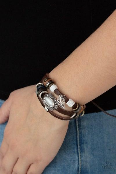 Mystically Mediterranean White Bracelet