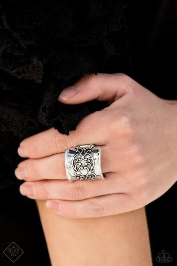 Me Myself and Ivy Silver Ring