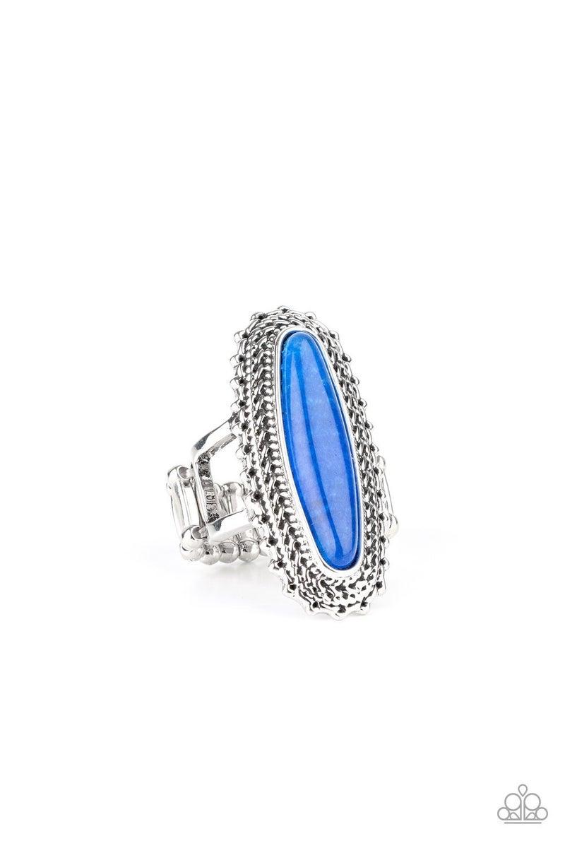 Mystical Mecca Blue Ring