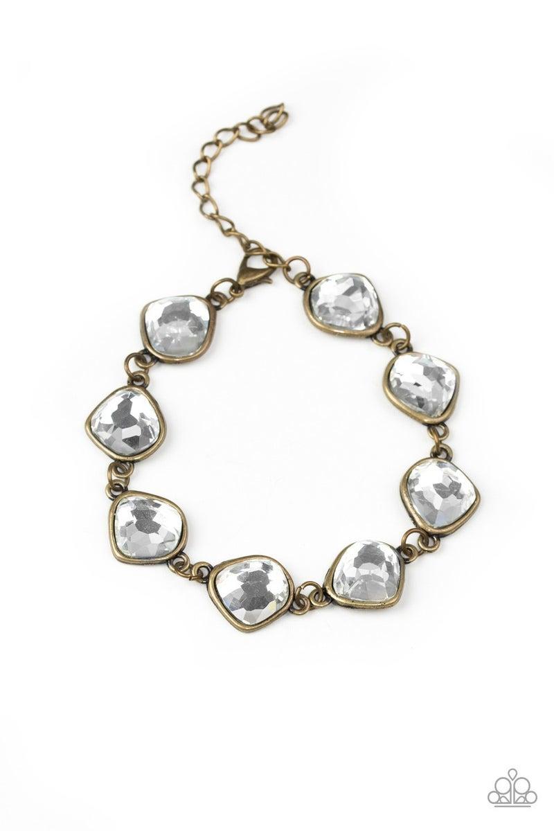 Perfect Imperfection Brass Bracelet