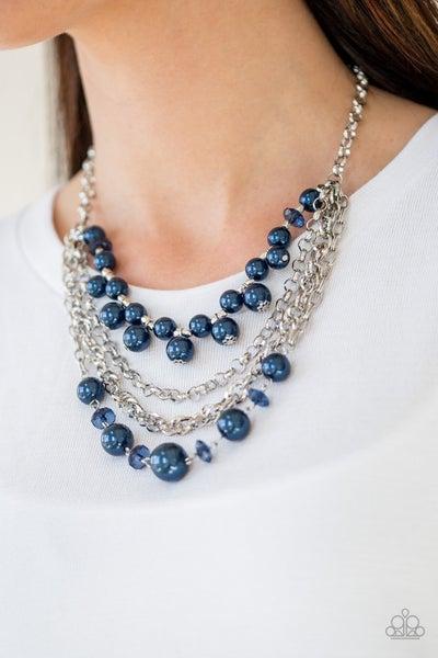 Rockin Rockette Blue Necklace