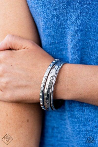 Confidently Curvaceous White Bracelet -Fashion Fix