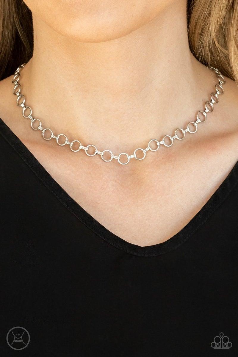 Insta Connection Silver Necklace