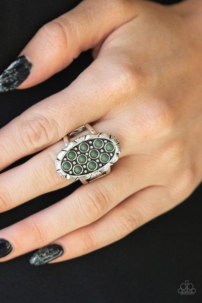 Cactus Garden Green Ring