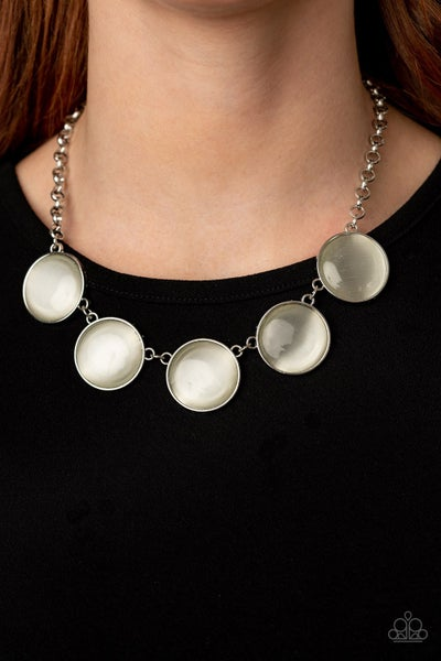 Ethereal Escape White Necklace