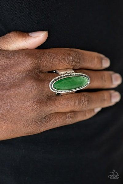 Stone Mystic Green Ring