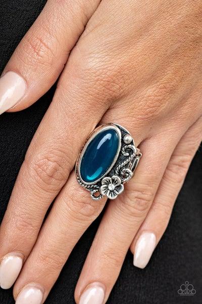Any Daisy Now Blue Ring