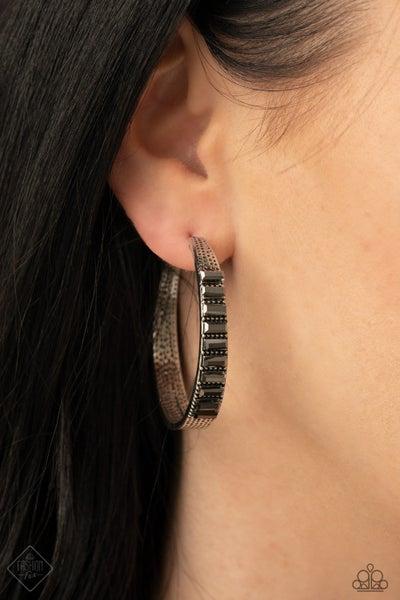 More To Love Silver Hoop Earring