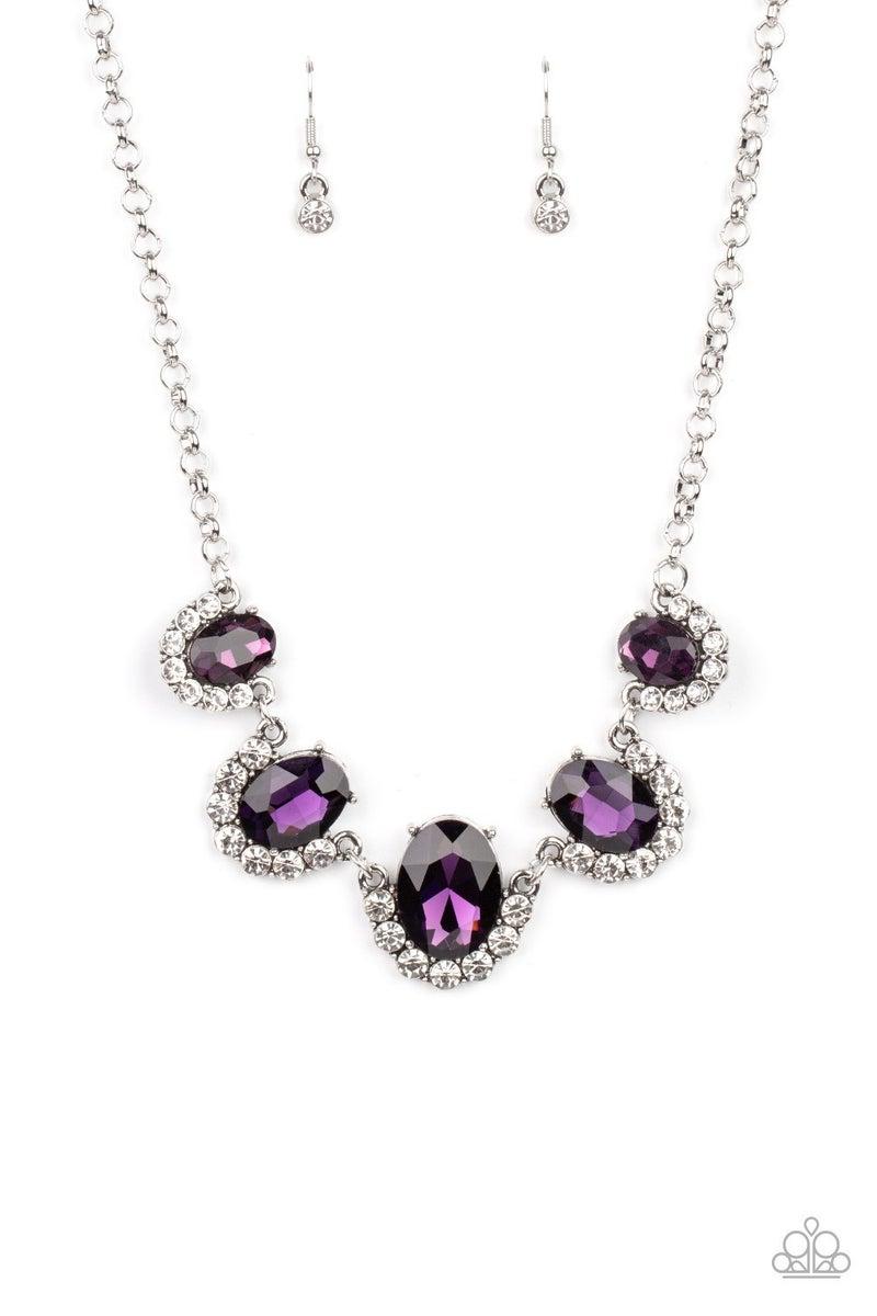 The Queen Demands It Purple Necklace