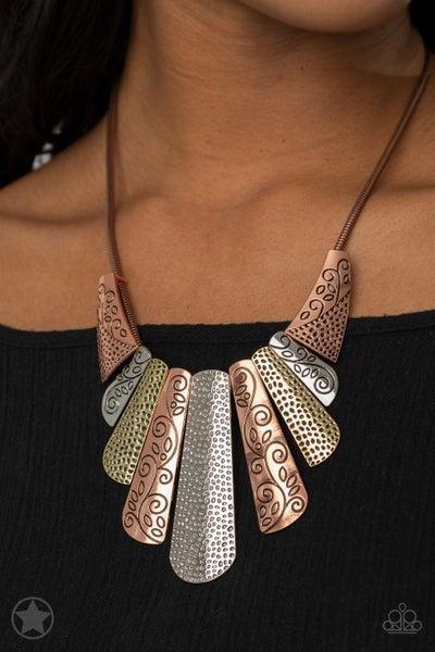 Untamed Copper Necklace